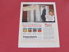 Amana Refridgeration Freezers & Moore McCormack Shipping Line