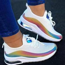 Women Walking Sneakers Breathable Trainers Sport Mesh Tennis Running Shoes SZ
