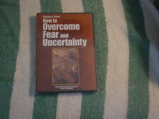 How to Overcome Fear and Uncertainty (DVD, 2005) from Charleton H. Sheets  NEW
