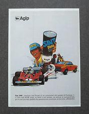 H242- Advertising Pubblicità - 1980 - AGIP SINT 2000