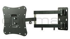 TV-Wandhalterung, quipma 309, schwenkbar, schwarz, 26-30 Zoll, bis VESA200, 18kg