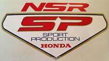 """Honda NSR250 NSR250SP """"Sport producción"""" Asiento Trasero Calcomanía 2"""