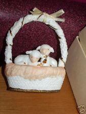 1987 Hallmark CHRISTMAS IS GENTLE limited edition lamb sheep new