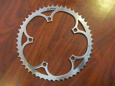 CAMPAGNOLO CAMPY 10 SPEED C10 135 BCD 5 BOLT 53T RAMPED AND PINNED CHAIN RING
