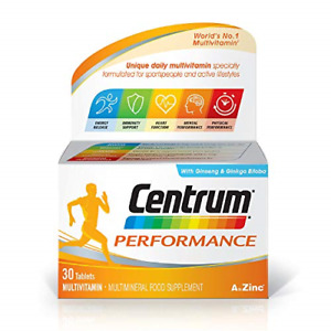 Centrum Performance A to Zinc Multivitamins With Minerals - 30 Tablets