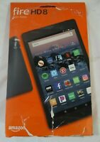 Amazon Fire HD 8 Android Tablet With Alexa 32GB-Black, NEW!