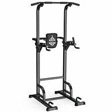 New listing Power Tower Dip Station Pull Up Bar for Home Gym Strength Training Workout