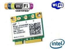 + Intel® Ultimate N Wifi Link 6300 450Mbit/s Dual Band 633ANHMW Mini PCIe +