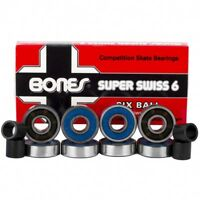 Bones Bearings Super Swiss 6 Skate Bearings