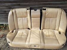 e38 Rear electric seats