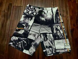 Bob Marley Billabong Swim Trunks Shorts Men's 34