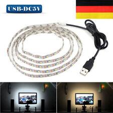 DE 5V USB 3528 RGB LED Strip Streifen Backlight TV Hintergrund Beleuchtung Licht