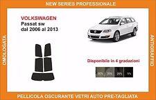 pellicola oscurante vetri volkswagen passat sw dal 2006 al 2013 kit posteriore