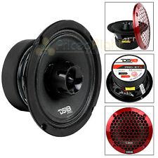 "6.5"" 2 Way Midrange Speaker Built In Tweeter 450 Watts Max 4 ohm DS18 PRO-ZT6"