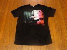 Madonna The MDNA Tour Concert 2012 Black T-Shirt sz L