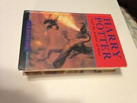 HARRY POTTER AND THE GOBLET OF FIRE 1st EDITION, 1st PRINT CANADIAN BLOOMSBURY