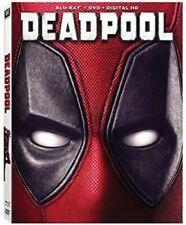 Deadpool [Blu-ray + DVD, 2016] Ryan Reynolds - PreOwned - Very Good***