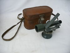 Vintage Hilger & Watts Surveyors Dumpy level SL10-1 with Leather case theodolite