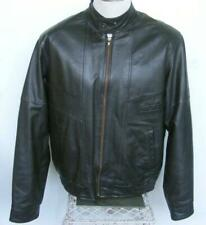 Cooper Vtg Leather Jacket 44 Sherpa Vest  Zip Out 2 PC Winter Warm Motorcycle
