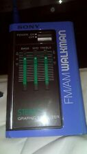parts / repair vintage Sony Srf-35W Fm Am Walkman Stereo Graphic Equalizer