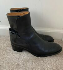 Tod's Back Strap Ankle Boot Sz 6 1/2 Italy