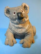 "Koala Bear Figurine 1982 by D. Jones Signed Soap Stone handcarved 3.5"" tall"