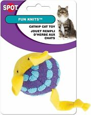 Ethical Spot Catnip Fun Knits Cat with inner Rattle (1 Toy - Styles vary)