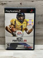 "NCAA Football 09 (Play Station 2) - ""VG Condition"" CIB - Free Shipping!"