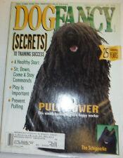 Dog Fancy Magazine The Schipperke & A Healthy Start August 1995 050815R