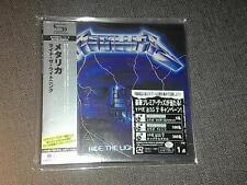 Metallica ride the lightning JAPAN MINI LP SHM CD GENUINE SEALED last copy