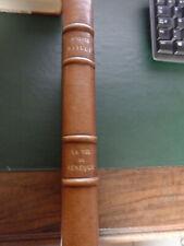 Livre ancien, Auguste BAILLY, La vie de Sénèque, Exemplaire sur Vélin de rives.