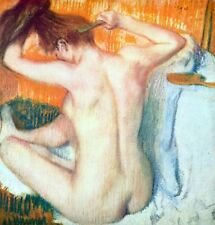 Women at the toilet [2] by Edgar Degas Giclee Fine Art Print Repro on Canvas