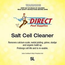 Salt Chlorinator Cleaner. 5l for Swimming Pool Cells Chemical