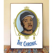DR. DRE THE CHRONIC ALBUM COVER ORIGINAL ART POSTER PRINT GANGSTER COMPTON