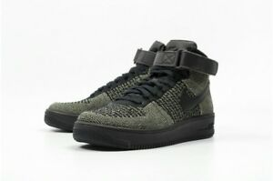NIKE AF1 ULTRA FLYKNIT MID PALM GREEN Trainers 817420 301 UK 7 ~ 10