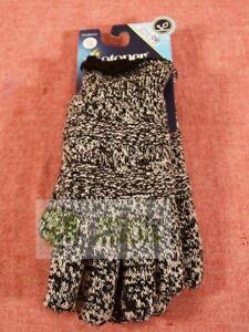 Isotoner Women's Smartdri Textured Knit Glove Sherpasoft Spill Ivory One Size