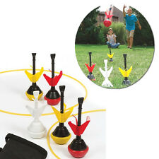 2-In-1 Lawn Darts Bocce Sports Backyard Outdoor Dart Tailgate Toys Game Lawn