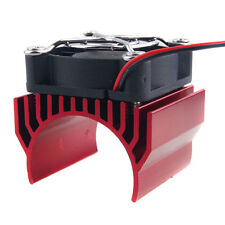 RC 540 550 Motor Alum Heat Sink 40x36mm Cooling Fan 5-7.4V HSP 7020 Red Part