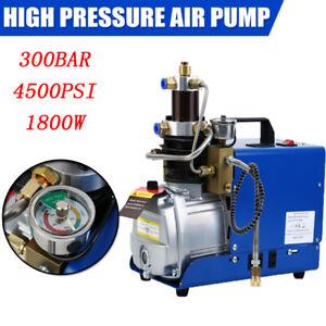 300Bar Kompressor PCP Hochdruck Hochdruckluftpumpe Kompressorpumpe Pumpe 1800W