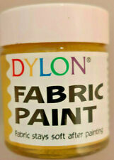 DYLON FABRIC PAINT DYE 25 ml FABRIC PAINT PEARL YELLOW 25ML 31