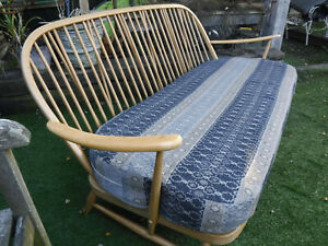 Mid-Century Ercol sofa - Vintage Blonde 203 3 seater - Assist Courier