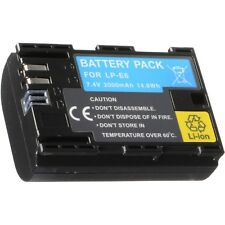 Battery LP-E6 LP-E6+ LPE6 Fully Decoded replace Canon 5D Mark II III 60D 60Da 7D