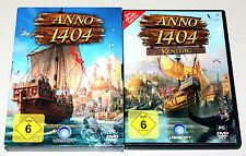 ANNO 1404 & ADD ON VENEDIG - PC DVD - GOLD EDITION