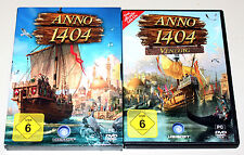 Anno 1404 & add on Venice-PC DVD-Gold Edition