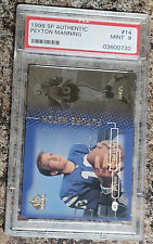 1998 SP Authentic Peyton Manning #14 Mint 9