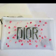 Dior Petal Embroidery White Mesh Makeup Cosmetic Pouch Bag 2020 Promo Gift New