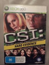 XBox 360 CSI Hard Evidence With Booklet   Crime Solving