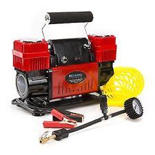 Dynamic Power 12V 300L/Min Portable Air Compressor - Red