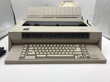 Ibm Wheelwriter 3 Electronic Typewriter Type 674x Untested For Parts Or Repair