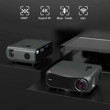 New Listing8500lms 5G WiFi Projector Native 1080p Home Theater Ppt 4K Movie Christmas Party